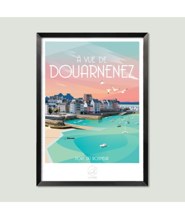 poster douarnenez