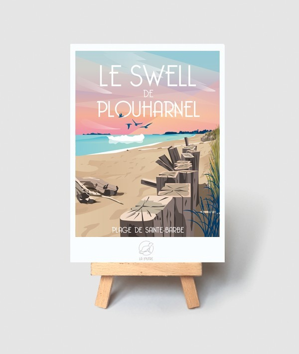 swell surf plouharnel