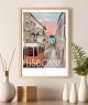 poster lisbonne portugal